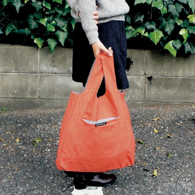 The Ref Bag-ライトに反射する「高反射生地」を採用した光るバッグで、夜道も安心です。-