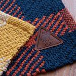 BIG CHECK -ビッグチェック- ざっくりとした編みの質感のフロア・キッチンマット